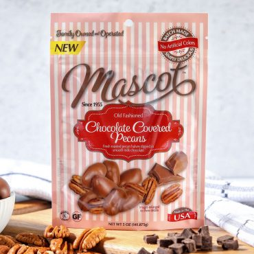 Milk Chocolate Covered Pecans - 8 5oz Pouches